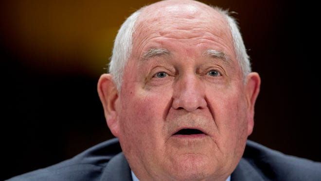 U.S. Secretary of Agriculture Sonny Perdue.