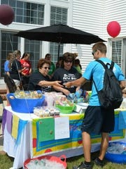 The proceeds from snacks sold during the fifth annual Julianna and Max's Field Day for Charity will be used to help homeless people in Cumberland County, according to organizers.