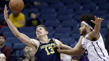 Shooting touch deserts Michigan in loss to Northwestern