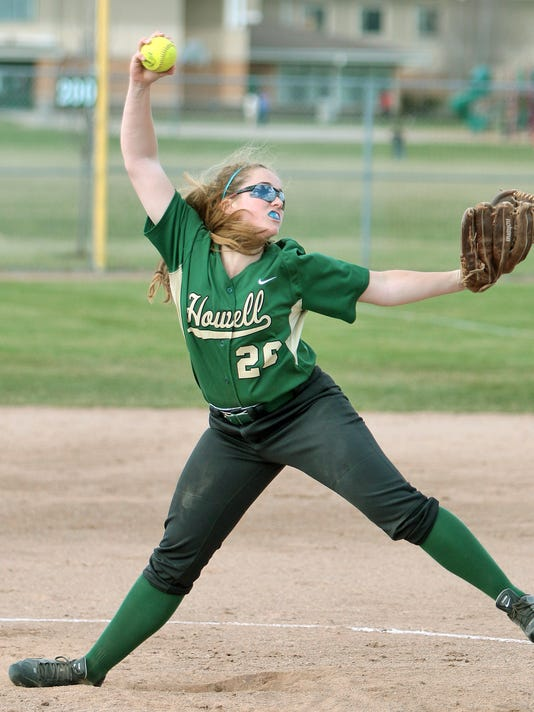 Howell pitcher Elaina McClellan delivers.jpg