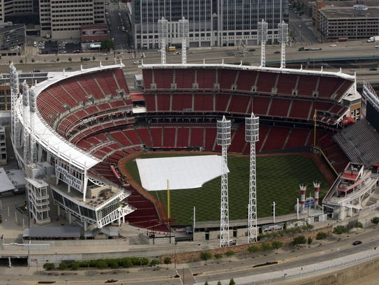 Great American Ball Park's price tag would be about