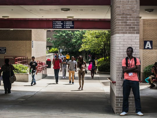 More than half of Shelby County students entering a public college in Tennessee in 2017 required a remedial class before they could start earning college credit, according to new statewide data released Wednesday to the USA Today Network-Tennessee.