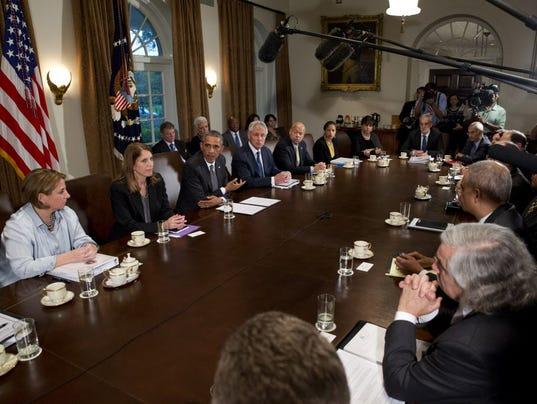 AP OBAMA EBOLA POLITICS A FILE USA DC