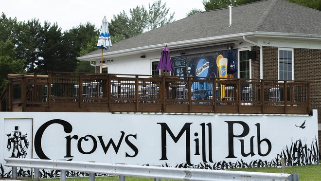Crows Mill Pub was closed by owner Scott Weitekamp until July 15th after an employee tested positive for COVID-19, Monday, June 29, 2020, in Springfield, Ill.