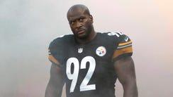 Pittsburgh Steelers outside linebacker James Harrison