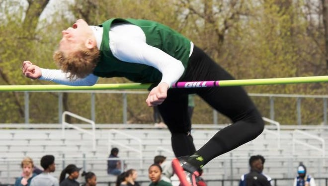 Novi junior Scott Sawyer broke a 32-year-old school record in the high jump with a leap of 6 feet, 71/4 inches.