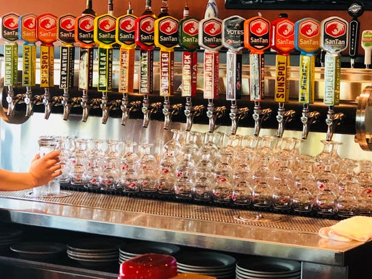 Shiny new taps are ready to pour SanTan Brewing Company