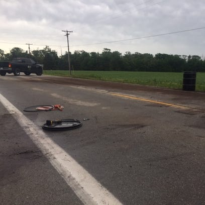 U.S. 6 near Rollersville was closed after three people