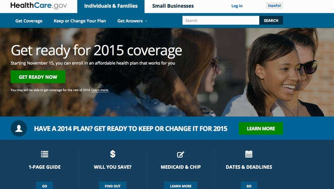 HealthCare.gov is a federal government website managed by the U.S. Centers for Medicare & Medicaid Service. It was redesigned and simplified for 2015.