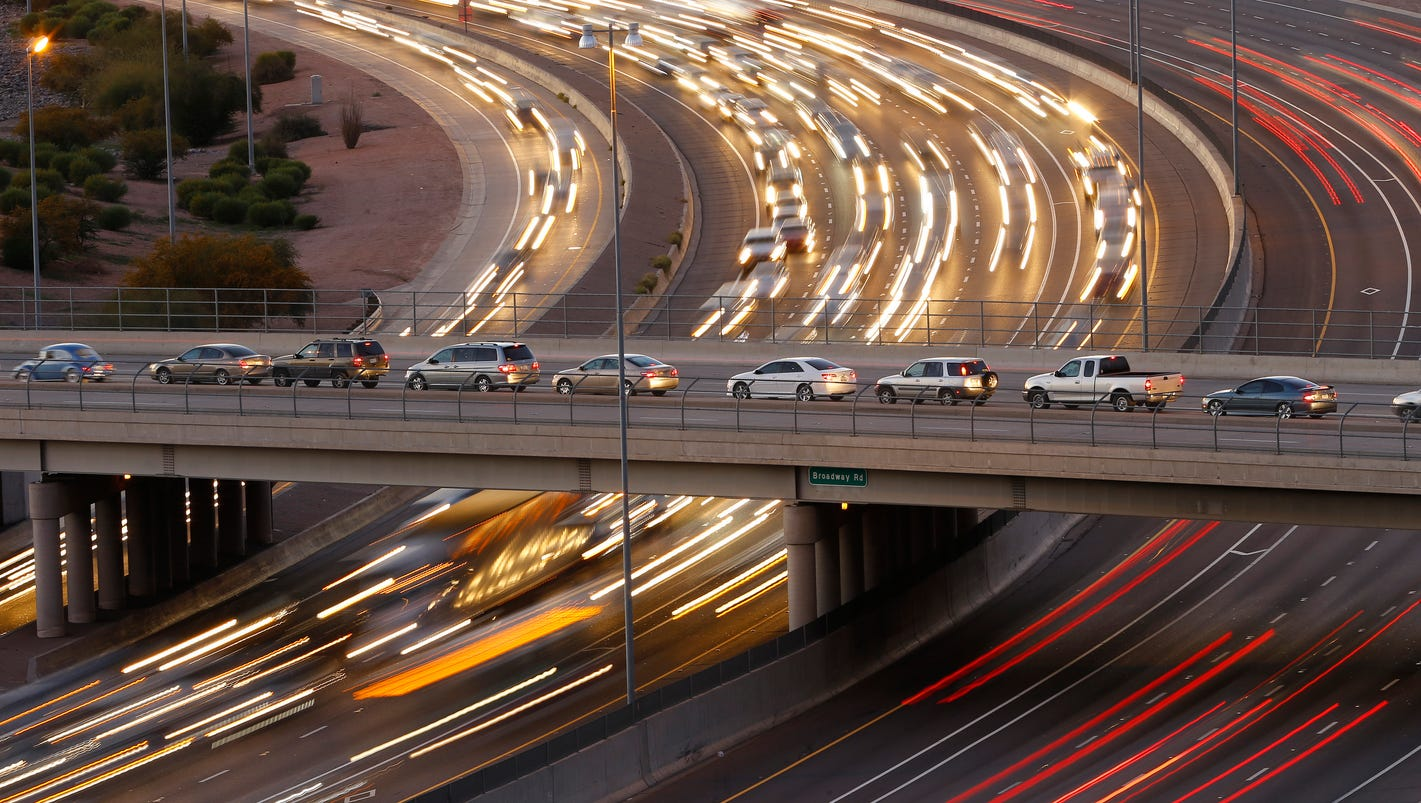 Phoenix area freeway projects to avoid this weekend for Today s interiors phoenix