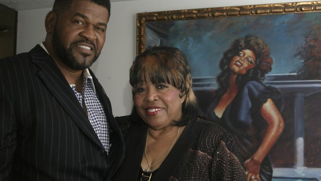 3/20/11 Denise LaSalle and her husband, James Wolfe, at their home in Jackson on Sunday. The couple is part of a group starting the Jackson Music Awards.