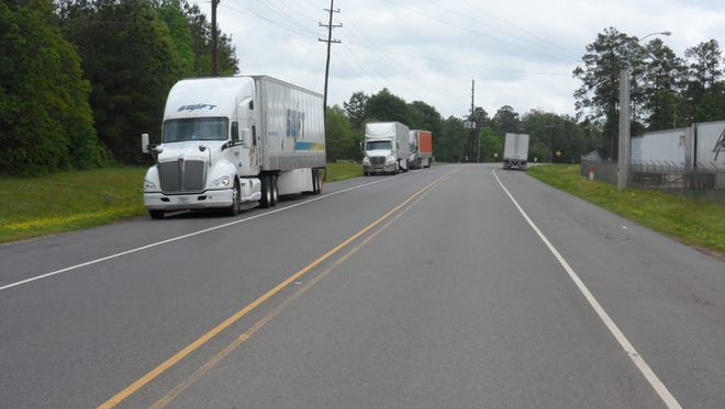 A stretch of Todd Hollingsworth Road will be overlaid as part of a transportation improvement project in Coughlin Industrial Park. Todd Hollingsworth Road runs alongside Procter & Gamble between U.S. Highway 165 and Pardue Road.