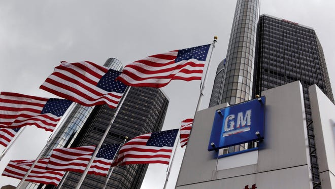 General Motors headquarters in Detroit, where CEO Mary Barra discussed recent recalls and what GM can do to regain buyers' confidence.