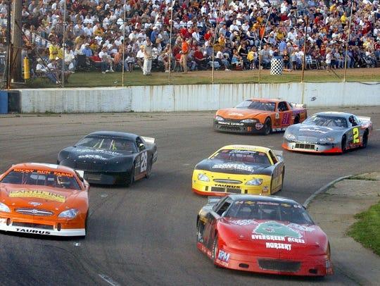 The Larry Detjens Memorial Race at State Park Speedway