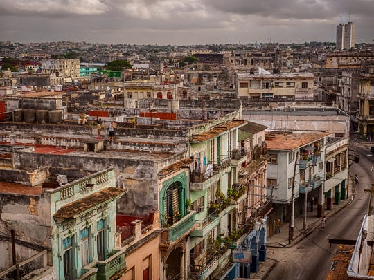 Local photographer, Ron Mayhew, traveled to Cuba with a group of 12 Pine Islanders.