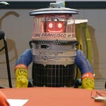 hitchBOT had GPS tracking and could carry limited conversation including sharing factoids.