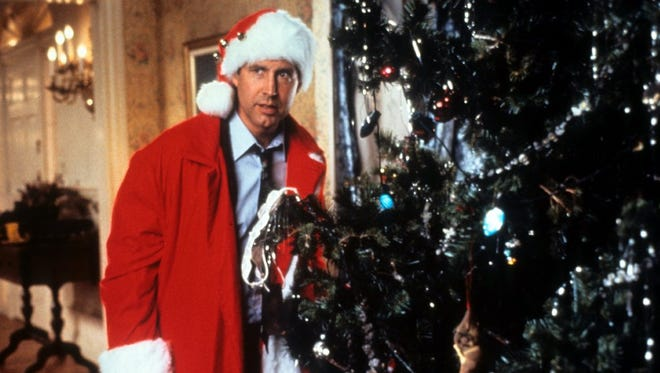 "Chevy Chase stars in the 1989 holiday comedy ""Christmas Vacation."""