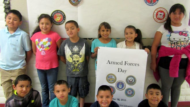 Bell Elementary School students are sending out an early invitation to all military veterans and personnel to join in their Armed Forces Day parade at 9 a.m. on Friday, May 20 at the school.