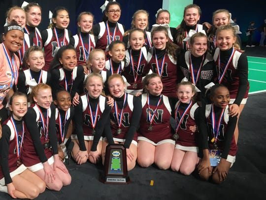 North Middle School Cheer team traveled to Orlando, Florida to participate in the 2018 UCA -Universal Cheer Association competition.