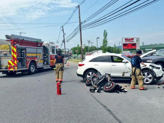One has been injured after a Tuesday afternoon crash in Dover Township, 911 confirmed.