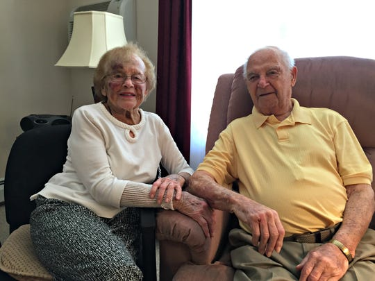 Lois and John Neu both served in the Army during World War II. Lois Neu was a nurse in Chicago and France. John was a pilot in England who flew during D-Day. The couple have been together almost 74 years.