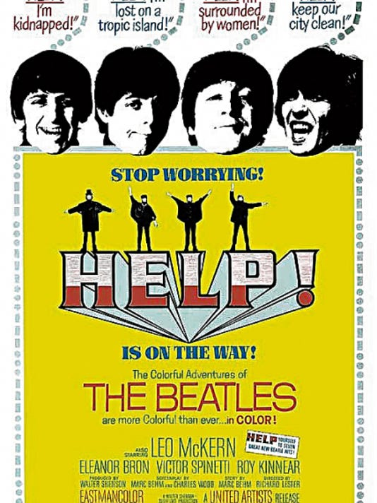 """The 1965 movie """"Help!,"""" starring The Beatles, is among six movies added to this year's Plaza Classic Film Festival."""