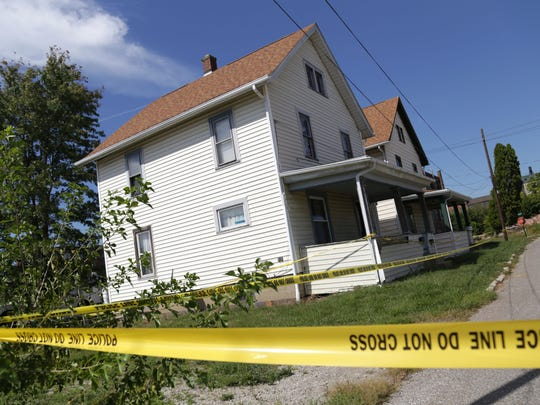 The Ashland Police Department, along with the Ohio Bureau of Criminal Investigation Crime Scene Unit, looked into a house on Covert Court on Sept. 13. Ashland police Chief David Marcelli said two bodies were found within the home.