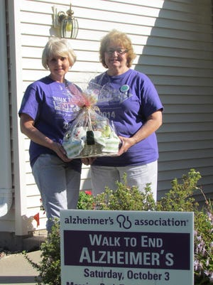 The Forget-Me-Not group was the biggest fundraiser for Fond du Lac County's Alzheimer's Walk last year.