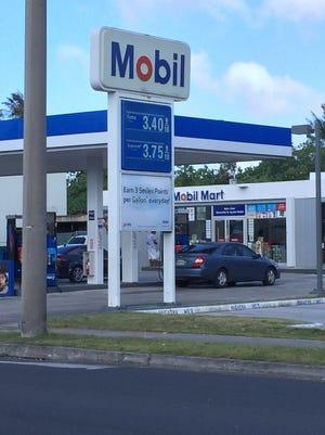 Hagatña Mobil gas price