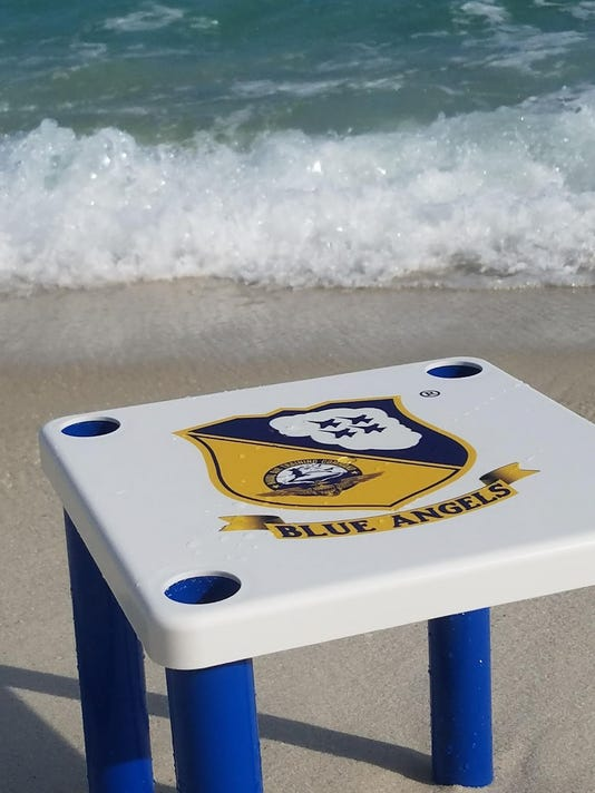 Blue Angels table