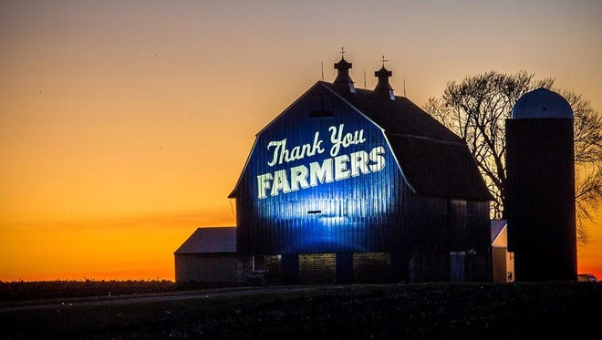 "Joe Koss, president and CEO of the Culver's restaurant chain, said: ""Every meal we serve starts with a farmer."""