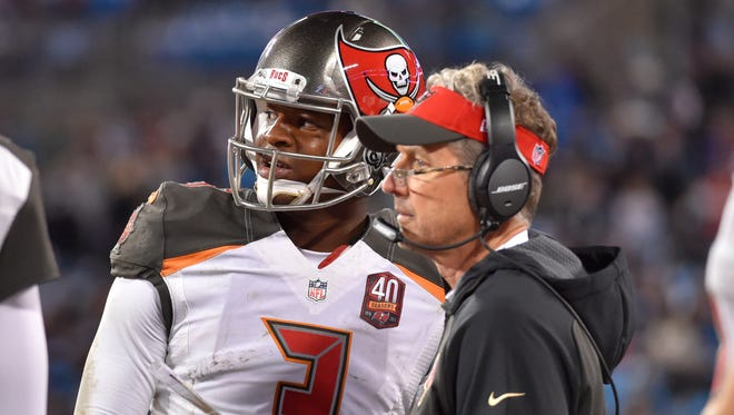 Behind QB Jameis Winston (3) and former OC Dirk Koetter, the Bucs ranked fifth in total offense in 2015.