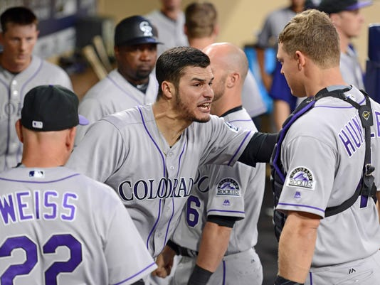 MLB: Colorado Rockies at San Diego Padres