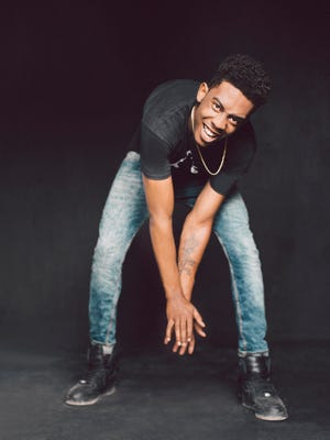 Desiigner poses in March during SXSW festival in Austin. The rapper just hit No. 1 on the Billboard Hot 100 singles chart with 'Panda.'