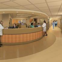MidHudson Regional Renovating Inpatient Care Floors