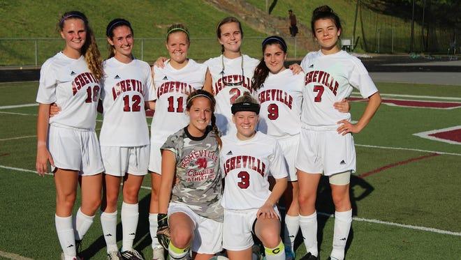 Asheville High's seniors