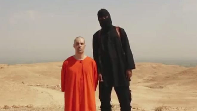 Journalist James Foley was shown being executed in a video released last week.