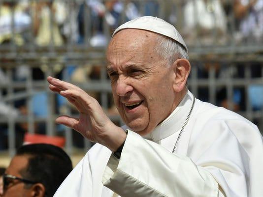 Pope Francis Egypt Cairo Mass