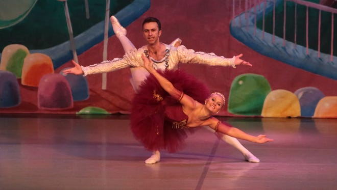 """Shelby Traum is preparing to return home to Salisbury to play the role of the Sugar Plum Fairy in the Eastern Shore Ballet Theatre's 25th production of """"The Nutcracker."""""""