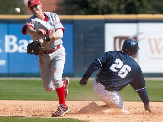 University of North Florida third baseman and former