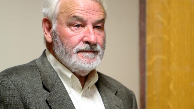 B. Thomas Golisano makes an appearance at Monroe County Court to fight the assessment on his Victor home on Sept. 15.