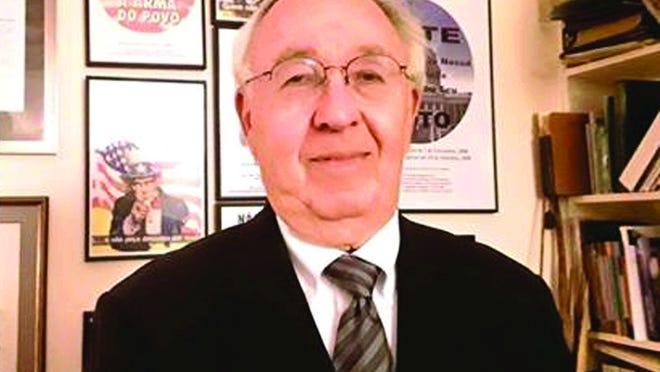 O antigo coordenador do Projeto de Cidadania Luso-Americana James McGlinchey.