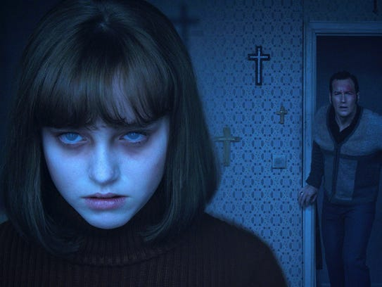 'Conjuring 2' stars a (self-) possessed Madison Wolfe