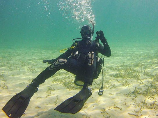 """""""It's a cool thing to go see,"""" said diving enthusiast"""