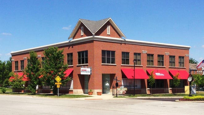 The new Indiana Members Credit Union will be located on Old Meridian Street in Carmel.