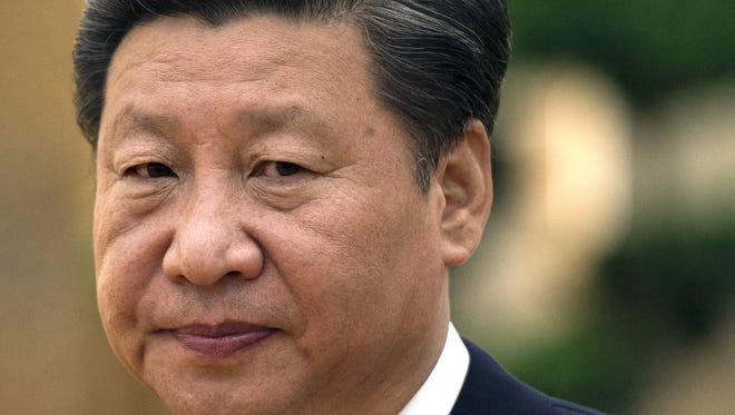 Chinese President Xi Jinping in Beijing on Aug. 28, 2015.