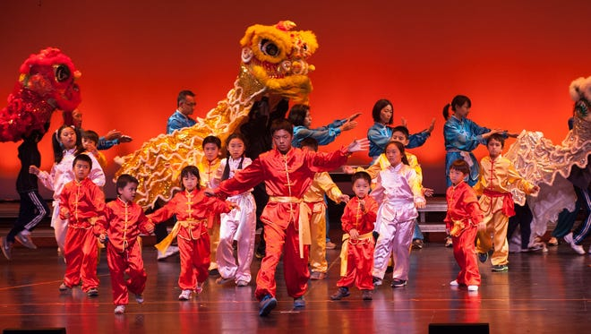 More than 300 performers take part in the Lunar New Year Celebration at the Thousand Oaks Civic Arts Plaza, put on each year by the Conejo Chinese Cultural Association.