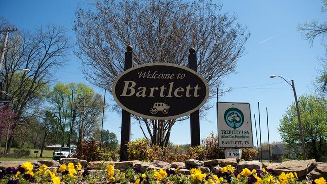 April 5, 2016 - Bartlett City Limits.