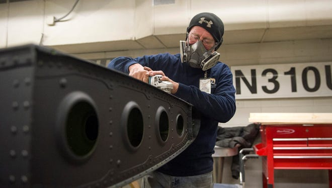 Aviation Afterlife, a division of Universal Asset Management, operates out of UAM's Tupelo, Miss. facility to repurpose pieces of retired aircraft by turning them into tables, chairs, clocks and other decor.