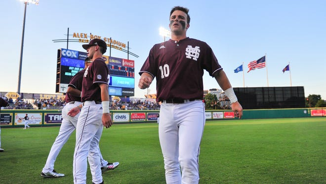 Mississippi State takes on LSU in the NCAA Super Regional at Alex Box Stadium in Baton Rouge, LA.- Saturday, June 10, 2017.
